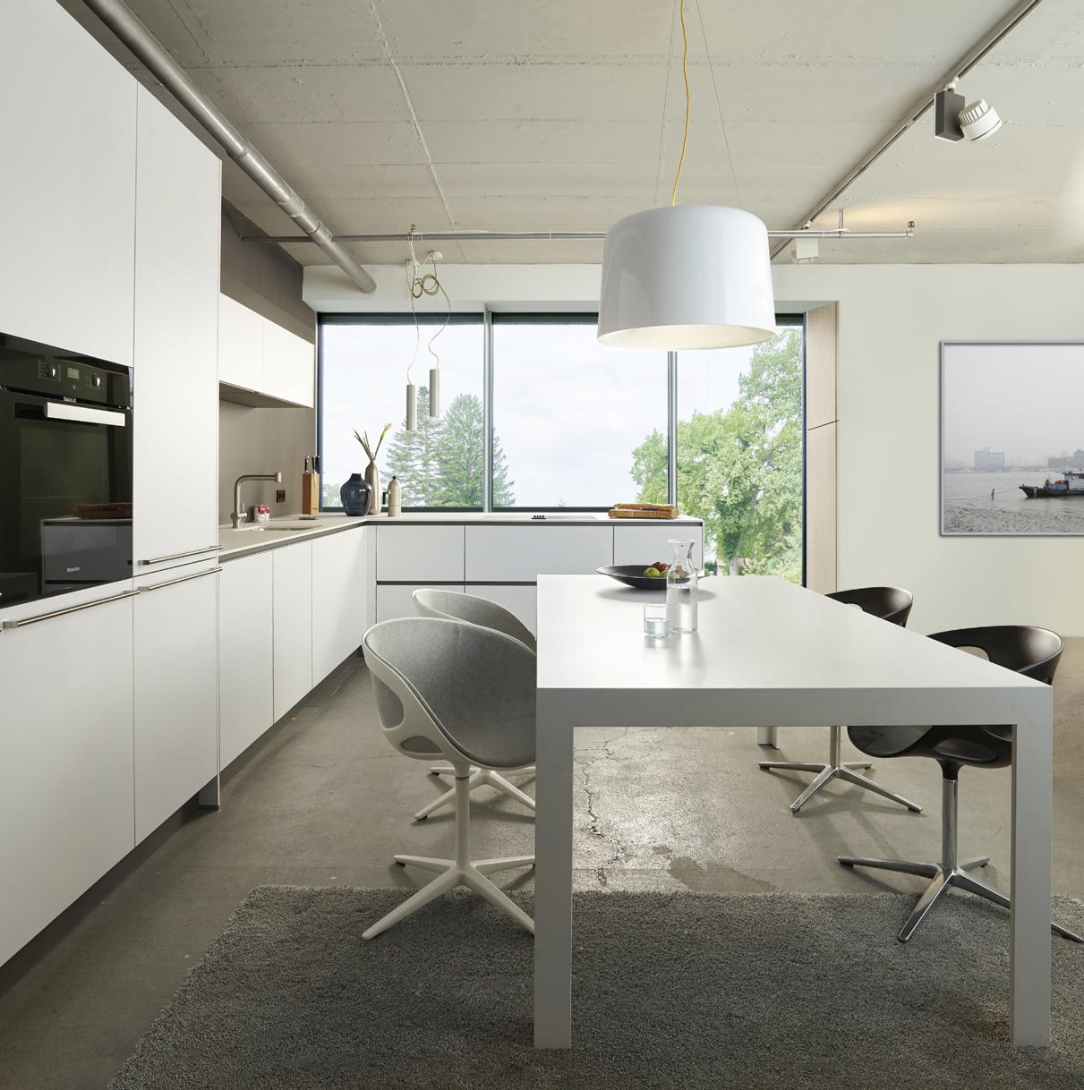 Gienger Küchen Studio München   Projekt